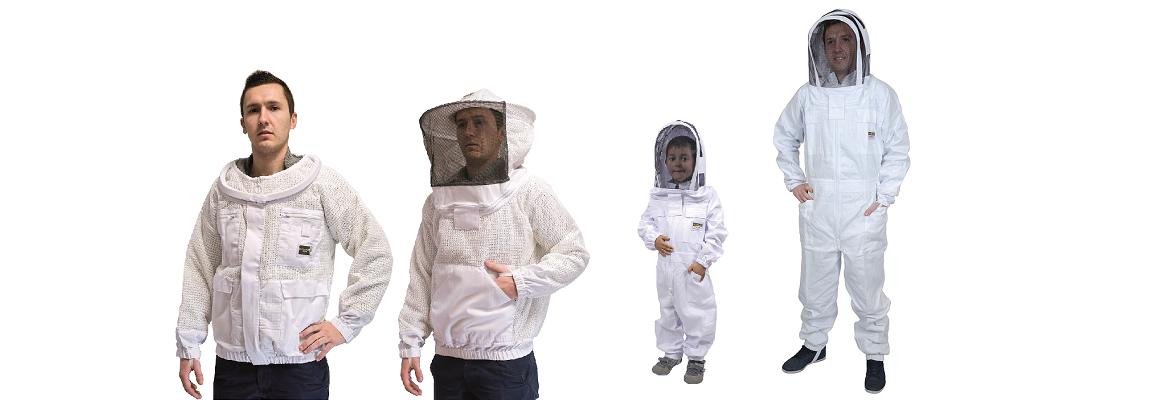 Le vêtement d'apiculteur