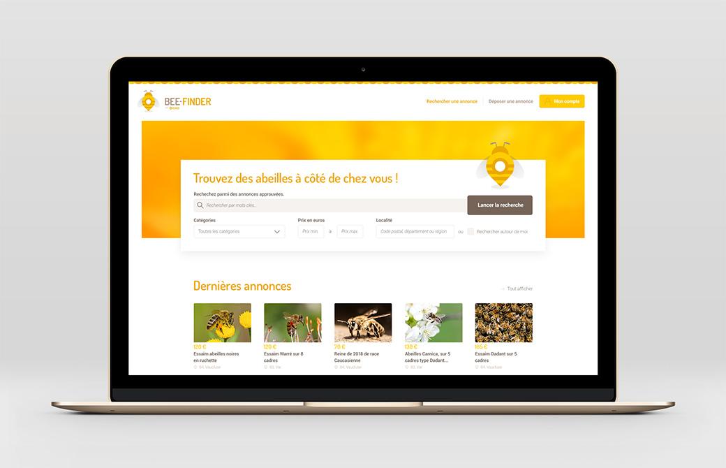 Bee-Finder : le premier site d'annonces d'abeilles