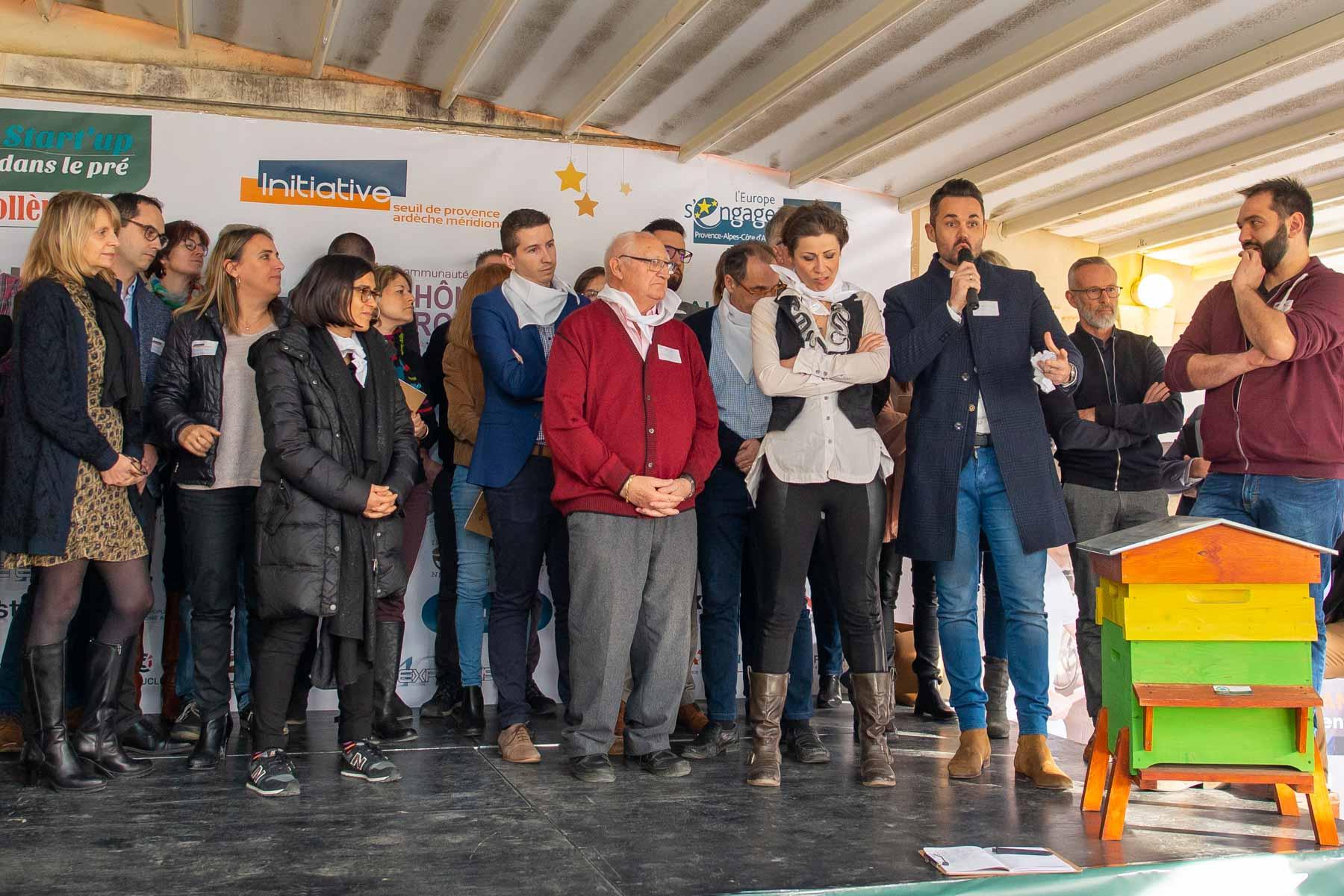 ICKO Apiculture soutient la création d'entreprises dans le secteur du développement durable